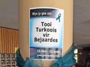 Go Turquoise 4 the Elderly Poster
