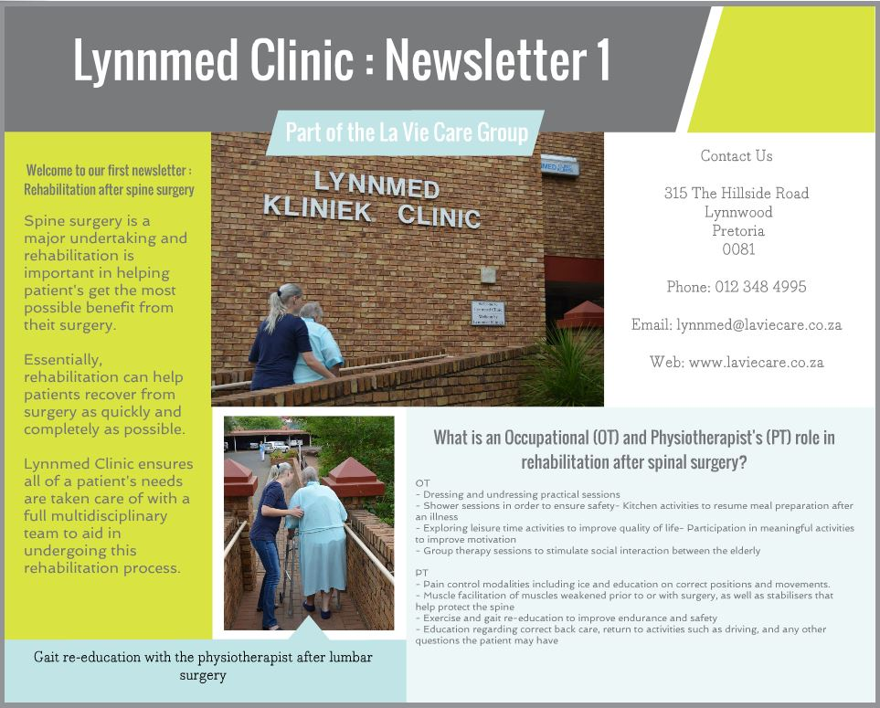 La Vie Care Lynnmed Newsletter