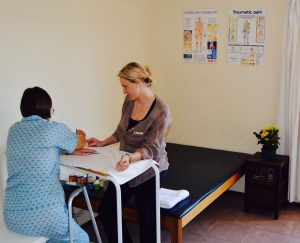 Fabric painting with the Occupational Therapist at Lynnmed Clinic 00