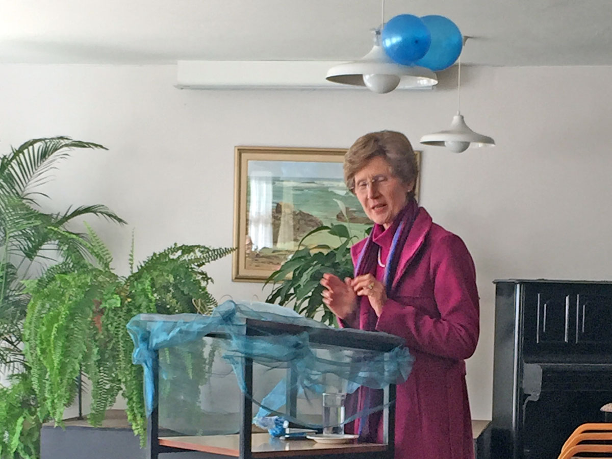 Dr Elma Kruger Giving a Talk