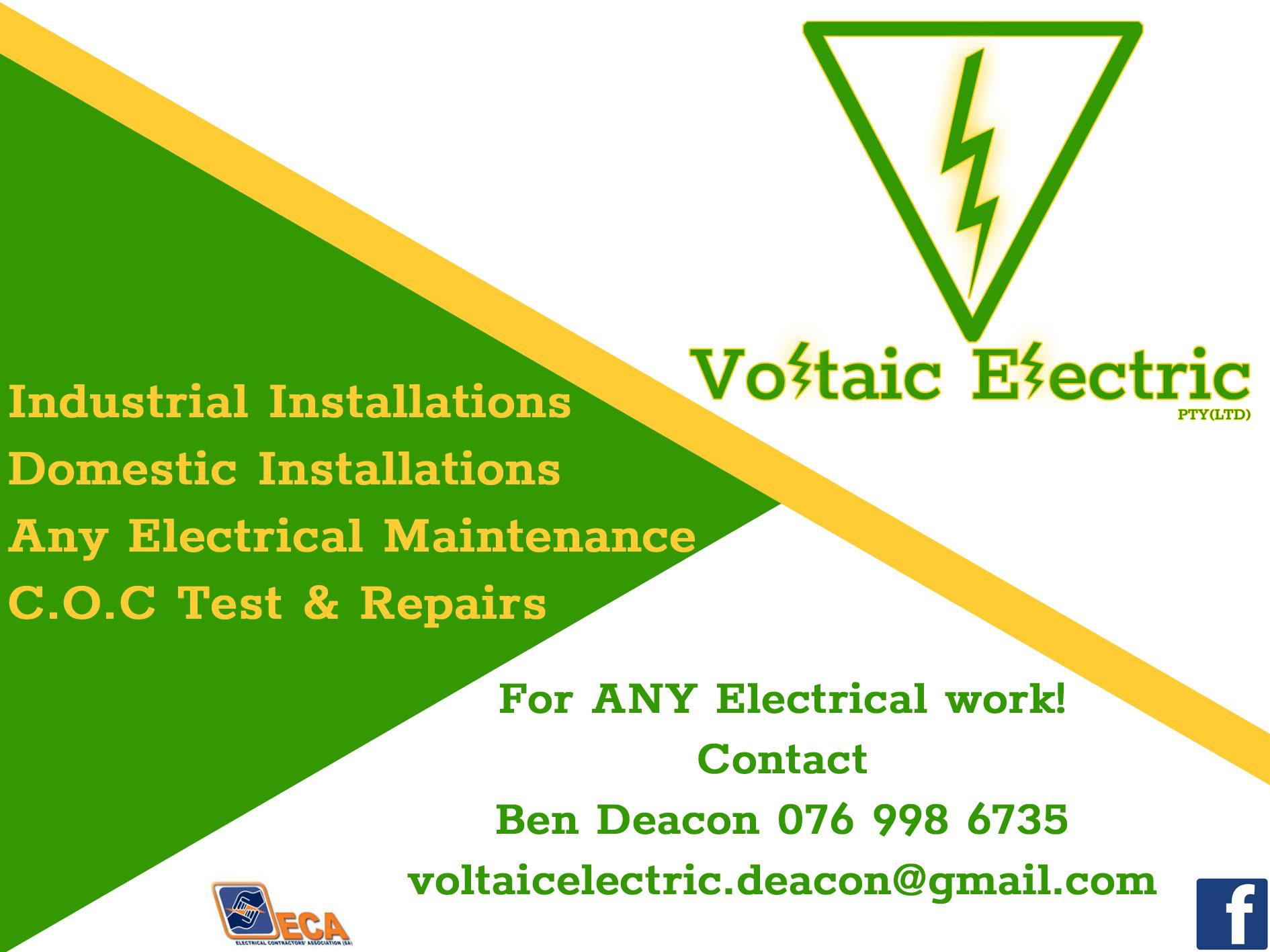 Voltaic Electric Ad